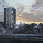 Eleanor Road (acrylic)