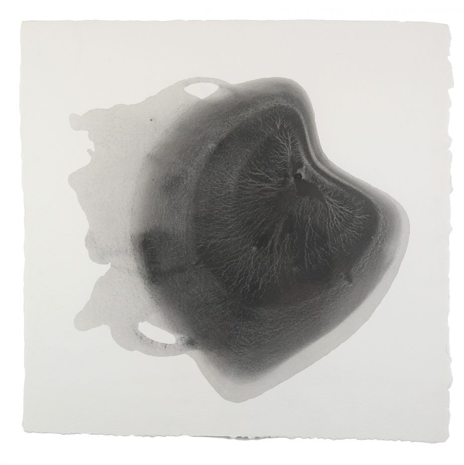sediment-1-2016-graphite-on-paper-50x50cm