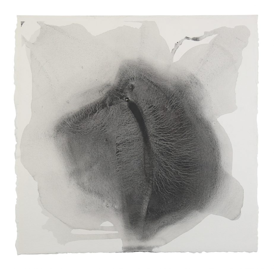 sediment-3-2016-graphite-on-paper-50x50cm