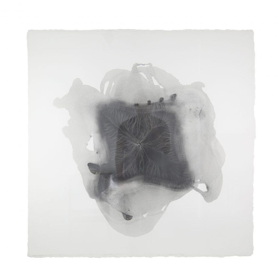 sediment-8-2016-graphite-on-paper-100x100cm